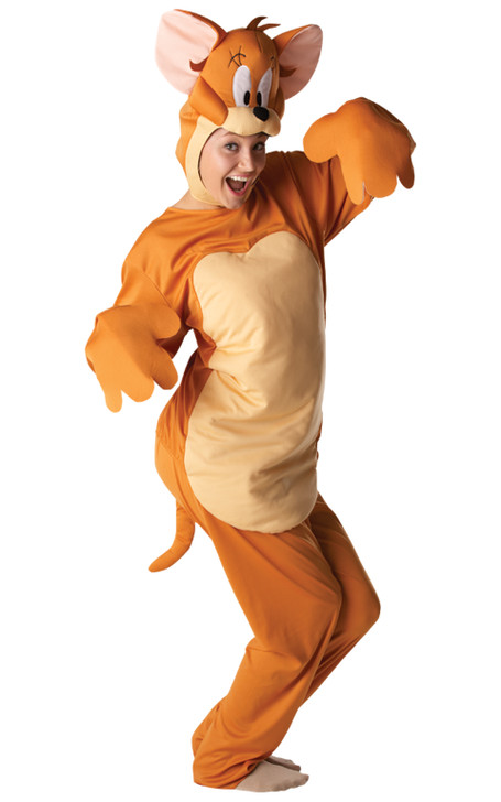 Adult Jerry Mouse Fancy Dress Costume