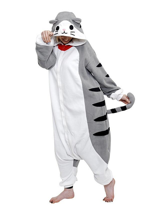 Tabby Cat Flannel Costume