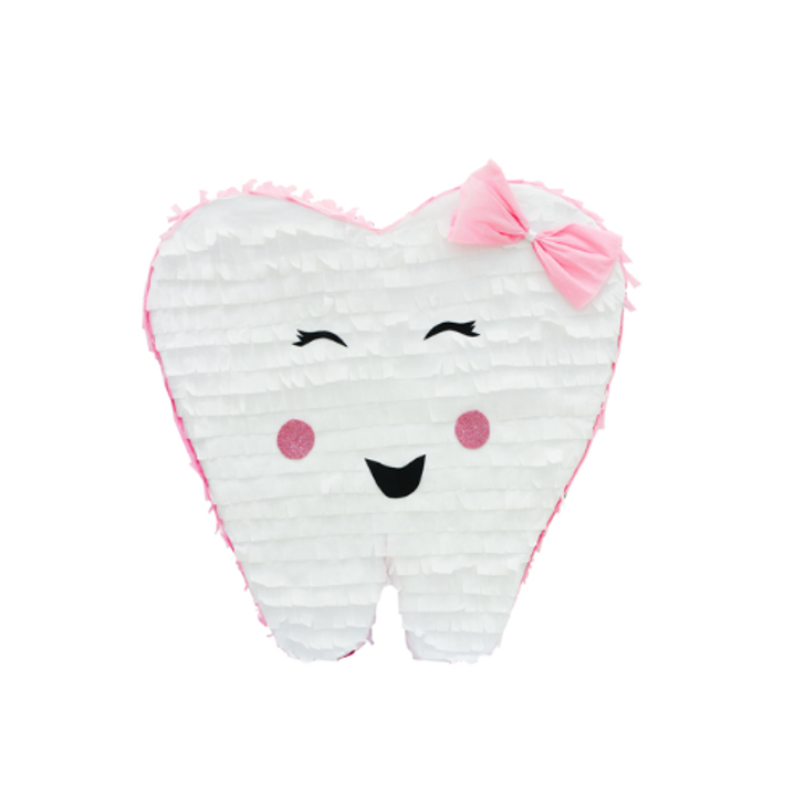 Tooth piñata, First tooth, Lost First tooth, Tooth Fairy