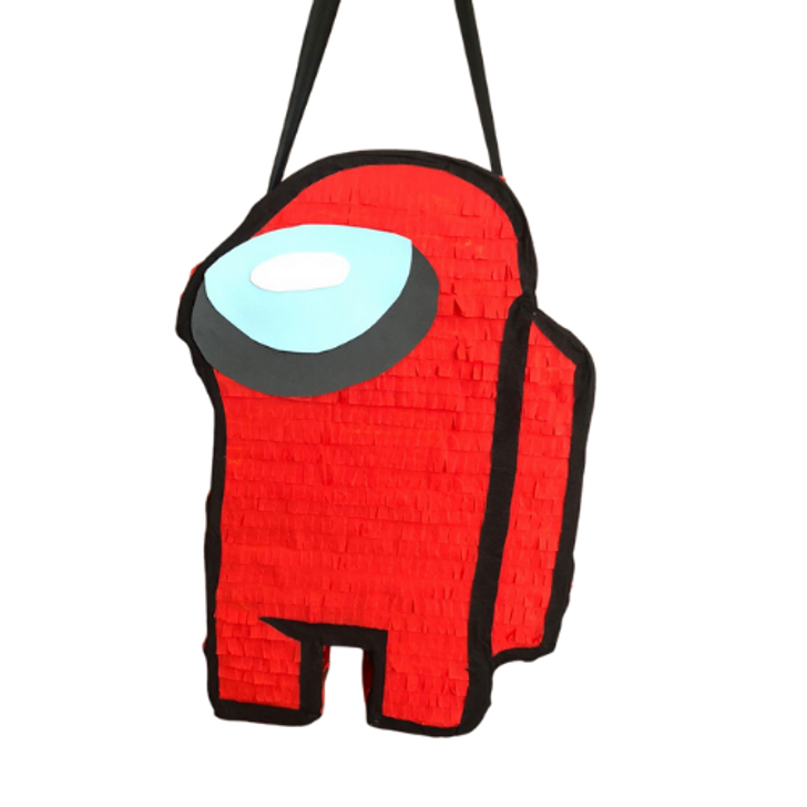 Cute Cartoon Pinatas Game Character Spaceman