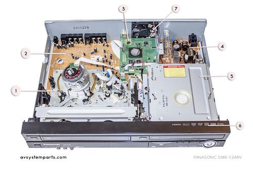 Panasonic DMR-EZ48 Parts
