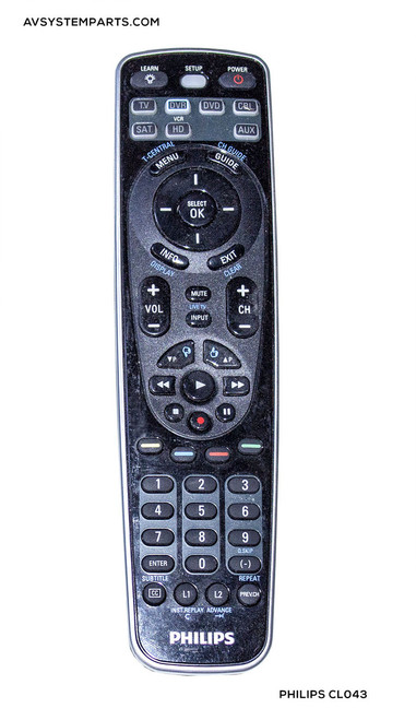 Philips Universal Remote Control CL043