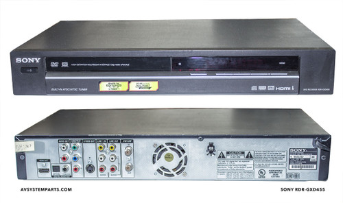 Sony RDR-GXD455