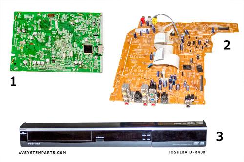 Toshiba D-R430 parts
