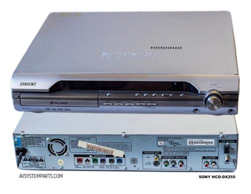 Sony HCD-DX255 5 Disk DVD /CD Player