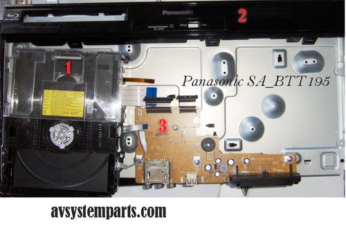 Panasonic SA-BTT195 Parts.