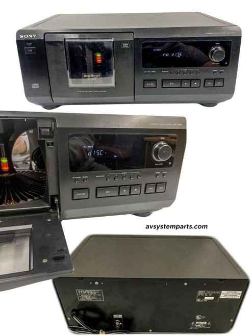 SONY CDP-CX50 50+1 MEGA STORAGE Compact CD DISC CHANGER PLAYER