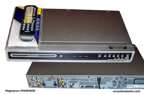 Magnavox MWR10D6 DVD Recorder with TV Tuner Player