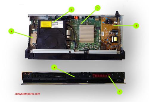 Sony BDP-S570 Parts