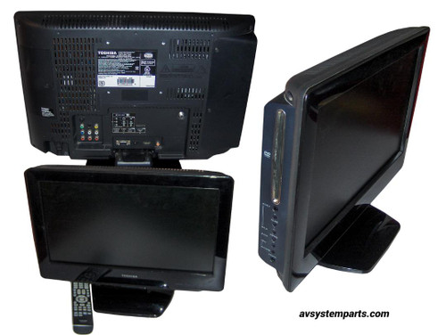 "Toshiba LCD 19LV61K 19"" TV/DVD Combination"