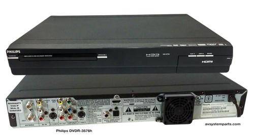 Philips DVDR3576/37 DVD recorder / HDD recorder