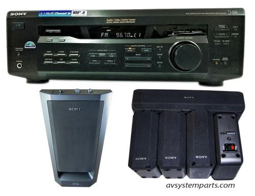 Sony STR-DE345 FM-AM Stereo Receiver 5.1Ch
