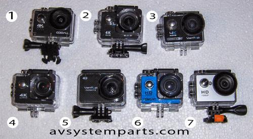 VanTop, COOAU Action Camera 4K WiFi Ultra HD Sports Waterproof Camera 20M