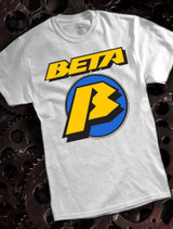 Beta Mens T-shirt on Ash