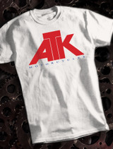 ATK Mens Tee on White