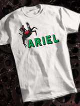 Ariel Mens T-shirt on White