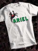 Ariel Mens T-shirt on White