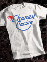 Cheney Racing Mens T-shirt on White