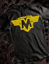 Vintage Maico Mens T-shirt on Black