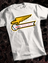 Moto Ducati Mens T-shirt on White