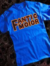 Fantic Motor Mens T-shirt on Blue