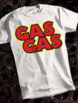 GasGas Mens T-shirt on White