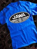Jawa Mens T-shirt on Blue