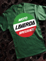 Laverda Mens Tee on Green