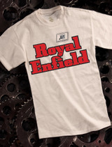 Royal Enfield Mens T-shirt on Natural