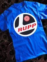 Rupp Mens T-shirt on Blue