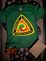 AMA Kids T-shirt on green