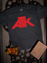 ATK Kids T-shirt on Black