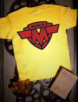 Maico Kids Tee on Yellow