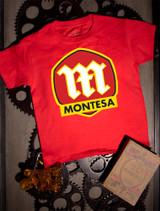 Montesa Kids Tee on Red