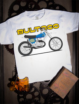 Bultaco Pursang Kids Tee on white