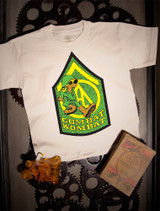 Hodaka Combat Wombat Kids Tee on natural