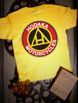 Hodaka Kids Tee on Yellow