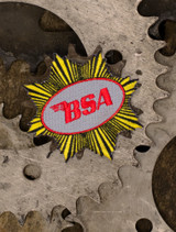 BSA Goldstar Patch