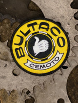Bultaco Gold Patch