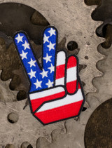 Peace Finger Patch