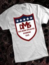 Dick Mann Mens T-shirt on Ash