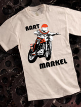 Bart Markel Mens Tshirt on Natural