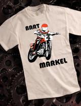 Bart Markel Mens Tshirt on Natural