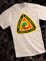AMA Mens t-shirt on natural