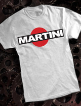 Martini Mens T-shirt on Ash