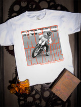 Mert Lawwill Photo Kids Tee on White