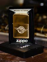 Brass Ducati Meccanic Zippo
