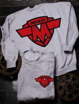 Maico Red Crew Sweat