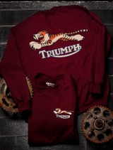 Triumph Tiger Crew Sweat