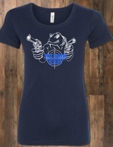 Fish's Firearms Ladies Tee